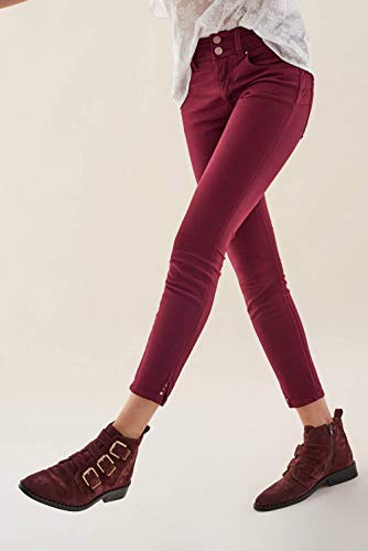 Pantaloni Secret Colore Applicazioni Di Capri Con Rosa Salsa Twq5Ad4Udx