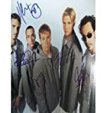 """Signed 11x14 """"Millennium"""" tour book page By Nick Carter, A.J. McLean, Howie Dorough, Kevin Scott Richardson and Brian Littrel Comes with Powers Collectibles COA and matching authenticity holograms"""