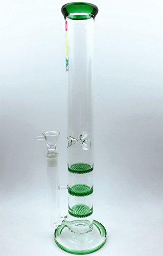 "Newest 18.8mm Size Handmade Glass 17"" Tall (Green)"