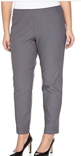 Eileen Fisher Plus Ash Washable Stretch Crepe Slim Ankle Pant Size 3X MSRP$178 ()