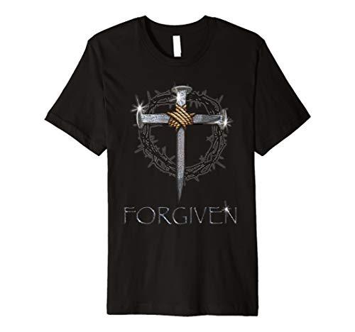 - Forgiven - 3 nails + 1 cross = 4 given