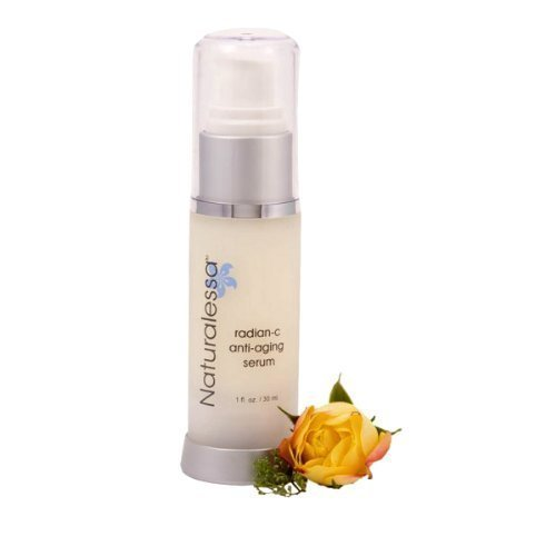 Radian-C Vitamin C Anti-aging Naturalessa Anti Wrinkle Serum Highly Concentrated Advanced Professional Serum Unique Delivery Restores Radiance Dry Skin for All Skin Types 1 fl.oz Made in the USA (Radiance Moisturizer Aging Fresh Anti)