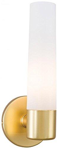 George Kovacs P5041-248, Saber, 1 Light Bath Fixture, Honey Gold