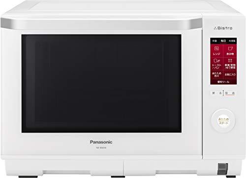 パナソニック スチームオーブンレンジ ビストロ 26L ヘルツフリー ホワイト NE-BS656-W