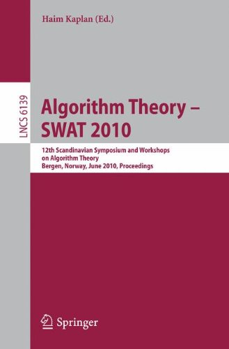 [PDF] Algorithm Theory Free Download | Publisher : Springer | Category : Computers & Internet | ISBN 10 : 364213730X | ISBN 13 : 9783642137303