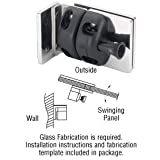 316 Polished Stainless Wall/Square Post Mount Gate Latch