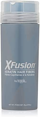 XFusion Keratin Hair Fibers, Economy Size, Medium Brown