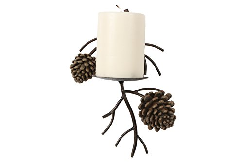 DEI Pine Cone Wall Pillar Sconce, 10-Inch - coolthings.us