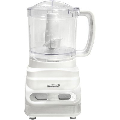 Brentwood Appliances FP-546 3-Cup Food Processor, 24 -Ounce, White