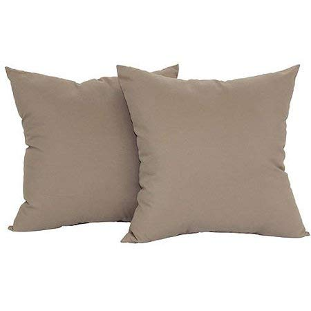 Mainstay Microfiber Twill Accent Decorative Throw Pillow