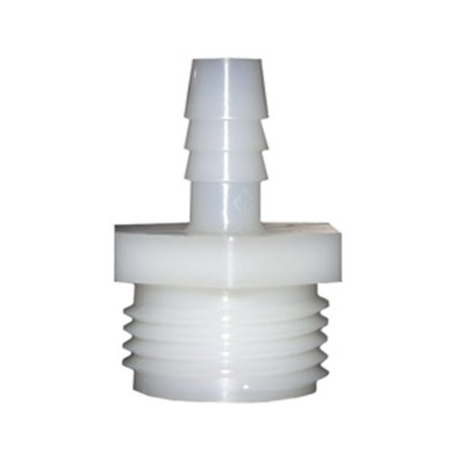 LASCO 19-9503 Male Hose Thread Adapter Barb Fitting with 3/8-Inch Barb and 3/4-Inch Male Hose Thread, ()