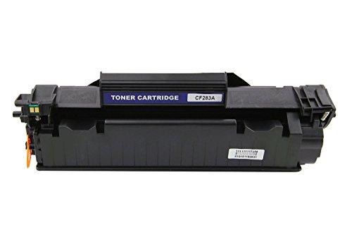 Do it Wiser Compatible Toner Black for HP Laserjet Pro M125 125FM 125A HPLaserjet Pro M127 M127FW FN HP Laserjet Pro M201 M225MFP HP Laserjet MFP M225DN M225DW Pro M201DW - CF283X - Yield 2,500