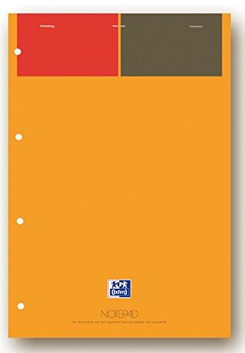 """80 Blatt Oxford International Collegeblock /""""Organiserbook/"""" kariert DIN A4"""