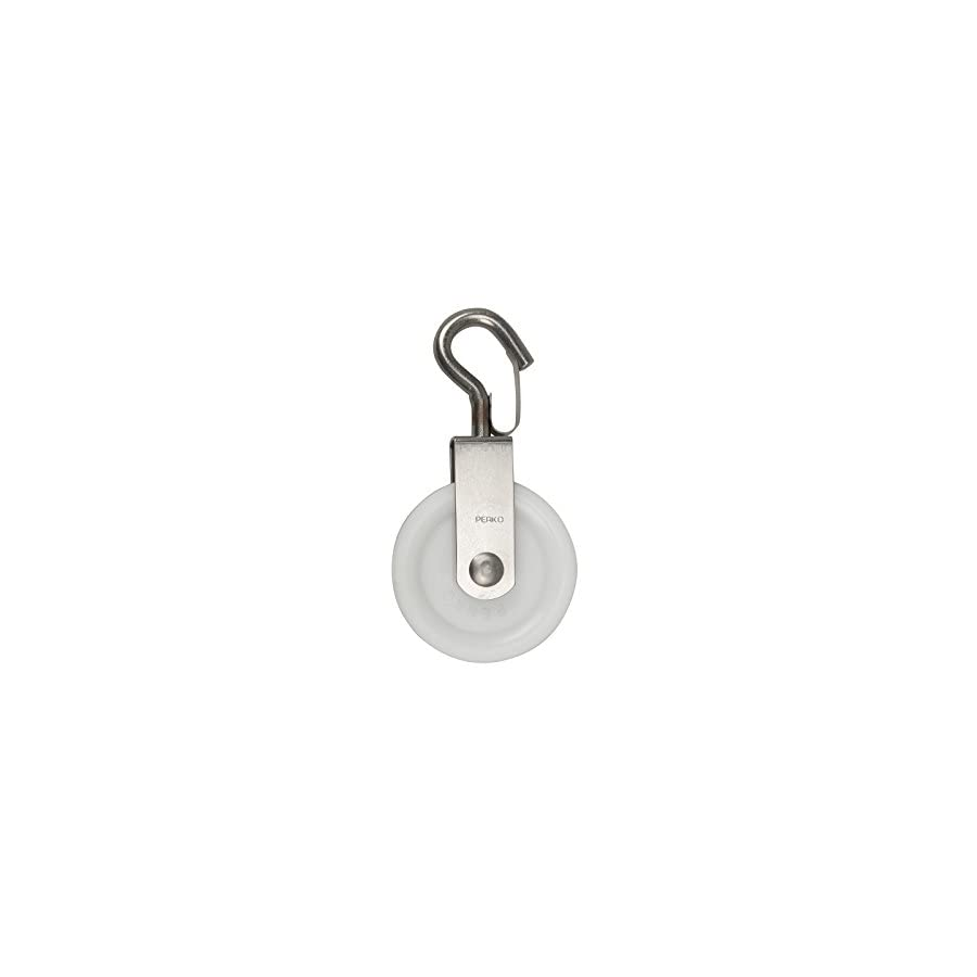 Perko 0634DP Swivel Snap Hook Rope Pulley