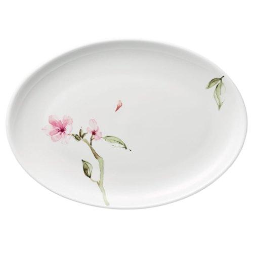 Rosenthal Jade Magnolie 61040-414124-12730 Oval Plate - 30 x 29 x 21 cm
