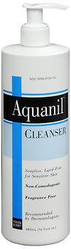 Aquanil Cleanser 16 oz (Pack of 5) (Aquanil Cleansing Lotion)