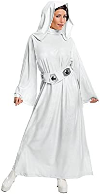 Rubie's Women's Star Wars Classic Deluxe Princess Leia Costume