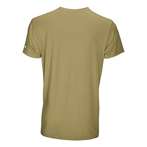 Arctic Cool Men's Pocket Workwear Instant Cooling Shirt with UPF 50+ Sun Protection, Olive, XXL by Arctic Cool (Image #1)
