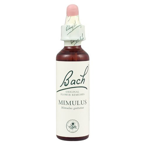 (3 PACK) - Bach Original Flower Remedies - Mimulus | 20ml | 3 PACK BUNDLE (Essence Mimulus Flower)