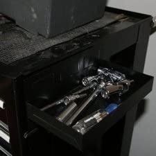 Beer Taps Tray Keg Drip Tray Tool Boxes or Kegerator Fridge CMS Magnetics Magnetic Tool Tray 12x4.5x1.25 Black Tool Organizer w//Side Holding Magnets for Cabinets