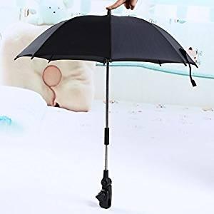 Paraguas Sombrilla para Silla de Paseo, Bicicleta y Cochecito Parasol para Sombrilla para Carritos de