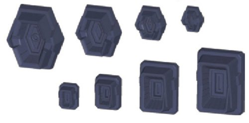 Bandai Hobby HD MS Detail 01 Builders Parts