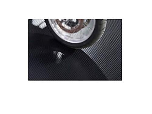 8'6''X22' 55 Mil Ribbed Garage Floor Mat Midnight Black by G-Floor (Image #1)