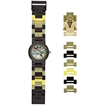 LEGO Watches and Clocks Automatic Plastic Casual Watch, Color:Black (Model: 8021032)