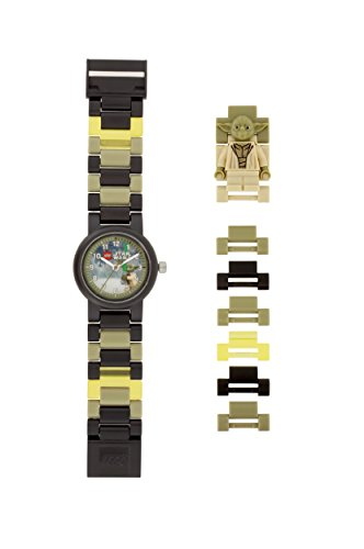 LEGO Watches and Clocks Automatic Plastic Casual Watch, Color:Black (Model: 8021032) (Vader Darth Watch Lego)