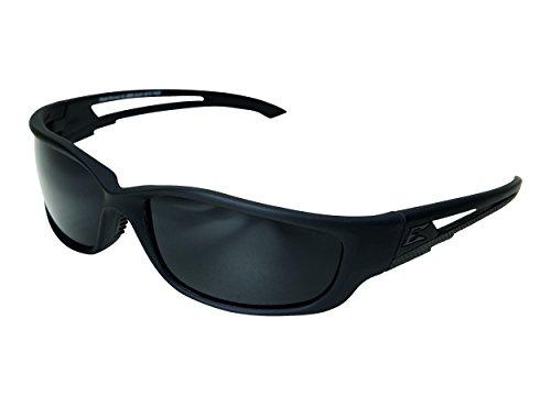 Edgeware adultes Edge Tactical Safety Eyewear, Blade Runner XL, noir mat, revêtement anti-rayures, anti-buée, cadre en nylon TR90lunettes de protection, Multicolore, Taille unique