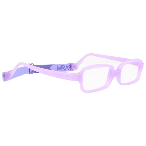 Miraflex New Baby3 Kids Eye Glass Frames | 45/17 Lavender | Age:8-11