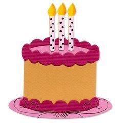 (Ellison Sizzix Originals Die-Large Birthday Cake #2)