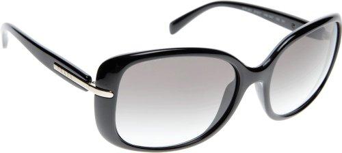 Prada Sunglasses - PR08OS / Frame: Black Lens: Gray Gradient ()