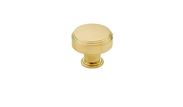 86295US4 Emtek 86295 American Designer 1-1//4 Inch Square Cabinet Knob gold brass