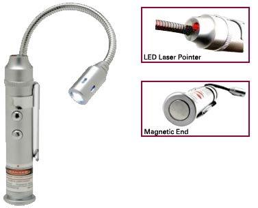 Magnetic Flexible Laser Led Light