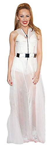Vestido blanco kylie minogue