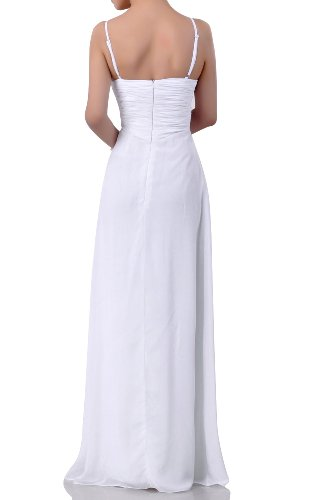 Occasion Modest Long Floor Rose Bridesmaid Chiffon Dress Empire line A Dusty Special Length F1Twqq