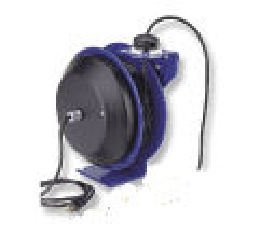 Coxreels PC13-5012-F Power Cord Spring Rewind Reels: Duplex Industrial Receptacle, 50' cord, 12 AWG (Cpc Receptacle)