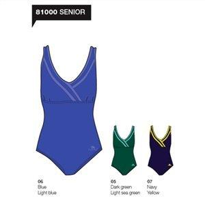 Turbo Master - Bañador de natación y waterpolo para mujer, talla XL, color azul royal: Amazon.es: Deportes y aire libre