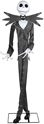 Gemmy 6'4 Tall Life Sized Animated Jack Skellington Disney Halloween Prop -