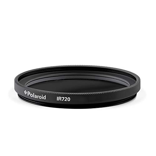 Polaroid Optics 62mm Infrared Filter [X-Ray Effect] – IR720 Removes Most Visible Light Below & Above 720nm Wavelength- Compatible w/ All Popular Camera Lens Models