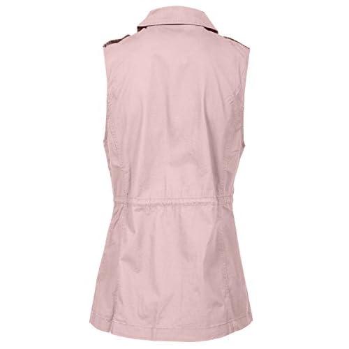 b35f4a813b108 J. LOVNY Women s Versatile Military Anorak Vest Various Styles S-3XL ...