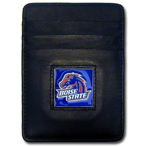 NCAA Boise State Broncos Leather Money Clip/Cardholder Boise State Broncos Paper