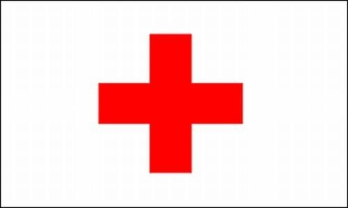 Be_Bra Red Cross Flag 3x5 ft First Aid Station Tent Emergenc