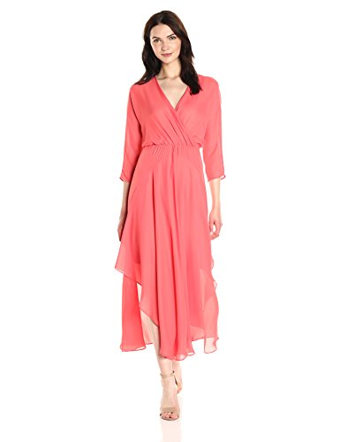 Larissa Dress - CATHERINE CATHERINE MALANDRINO Women's Larissa Dress, Watermelon Julep, 14