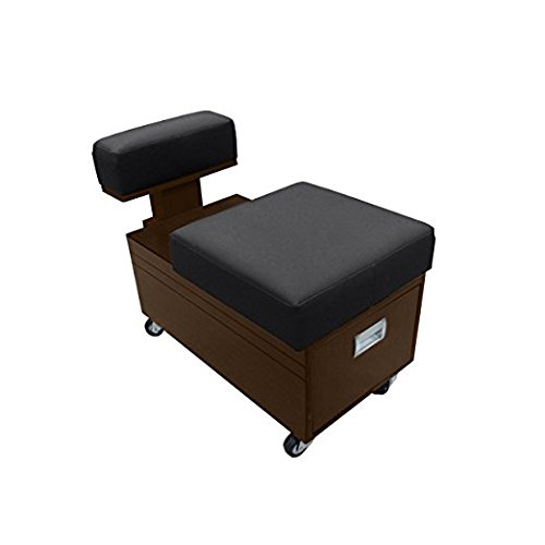 Pedicure Cart with Footrest BERKELEY Nail Salon Furniture & Equipment by Madison Park