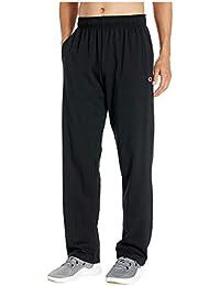 Men's Open Bottom Lightweight Jersey Pant
