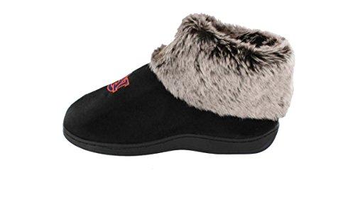 Pies Cómodos Happy Feet Para Hombre Y Para Mujer Ncaa College Faux Piel De Oveja Peludo Zapatillas Auburn Tigers S