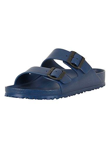 Birkenstock Unisex Arizona Essentials EVA Blue Sandals - 42 EU (9 D(M) US )
