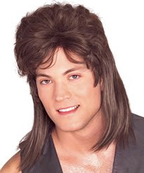 Brown Mullet Wig - World Wig Waynes